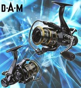 DAM Quick CAMARO 650 FS - Freilaufrolle + gratis Shimano Ultegra Schnur -