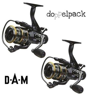 2 Stk. DAM Quick CAMARO 650 FS - Freilaufrolle (Doppelpack) -