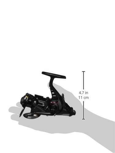 Cormoran Rolle Cortec BR 4 PIF 2000 Freilaufrolle 3BB 130m/0.25 mm, Schwarz/Silber, 19-03200 -