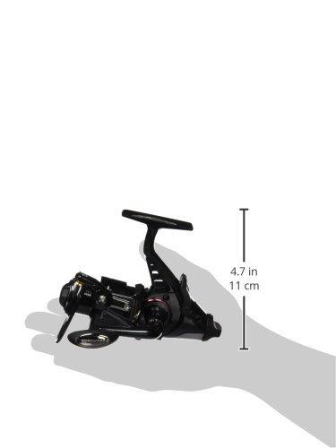 Cormoran Rolle Cortec BR 4 PIF 4000 Freilaufrolle 3BB 170m/0.40mm, Schwarz/ Silber, 19-03400 -