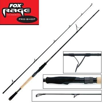 Fox Rage Terminator Pro Big bait spin 240cm 40-160g Spinnrute, Angelrute zum Spinnfischen, Spinnangeln, Rute zum Angeln auf Raubfische, Kunstköderrute, Hechtrute, Wallerrute, Welsrute -