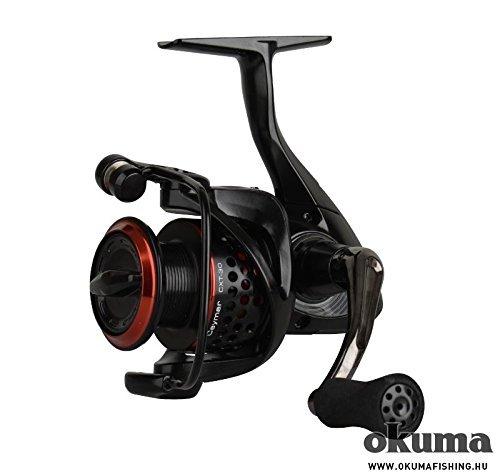 Okuma Ceymar XT CXT-30 Rolle - 200m 0,20mm Schnurfassung Angelrolle, Spinnrolle, Rolle für Hecht, Zander, Barsch, Forellen -