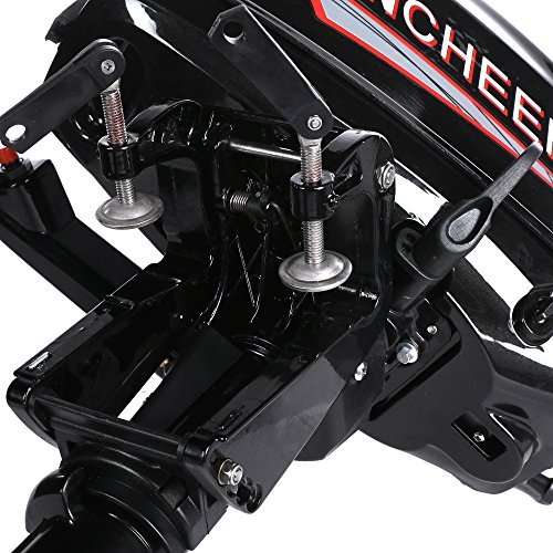 Ancheer Außenborder Bootsmotor Fischerbootsmotor 2.9KW(4HP) mit 2-Takt Wassergekühlt NEU -