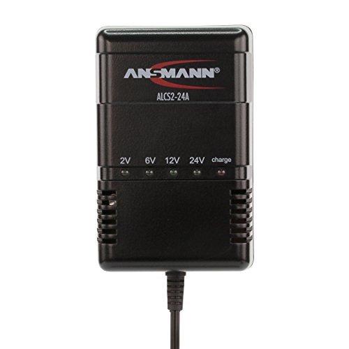 ANSMANN ALCS 2-24A KFZ-Ladegerät für Auto- Roller- Moto-Batterie Blei-Akku 2V-24V -