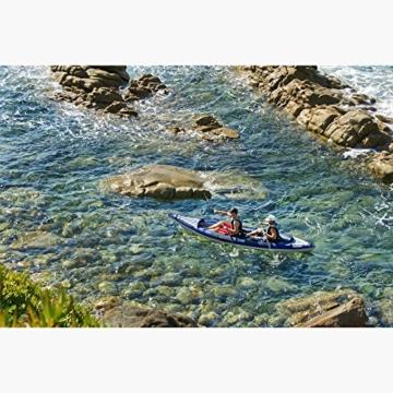 Aquaglide Schlauchboot Aufblasbares Kajak Columbia Tandem XP Kanu, 457 cm x 91 cm L B Luftboot 3 Personen -