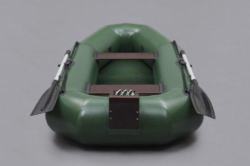 Bengar Schlauchboot Set L-240 Lotus 240, ideal geeignet als Angelboot in dunkelgrün -