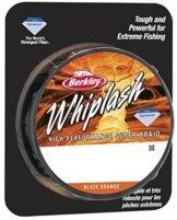 Berkley Angelschnur Whiplash, geflochten, Blaze Orange, 65 kg, 300 m by Berkley -