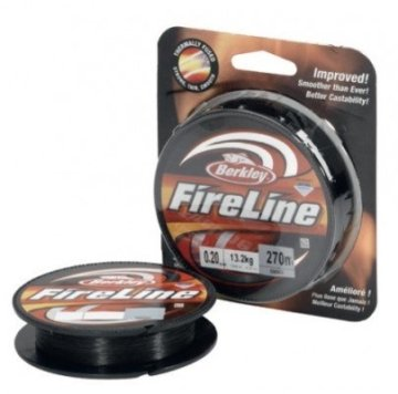 Berkley Fireline 270M 0.10MM Smoke -