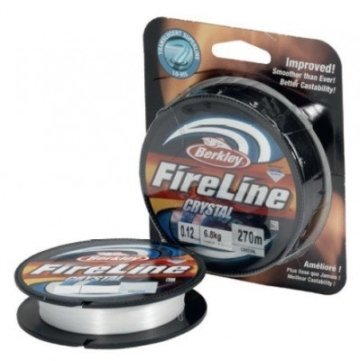Berkley Fireline 270M 0.12MM Crystal -