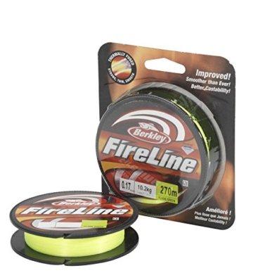 Berkley Fireline 270M 0.17MM FLAME-Grün -