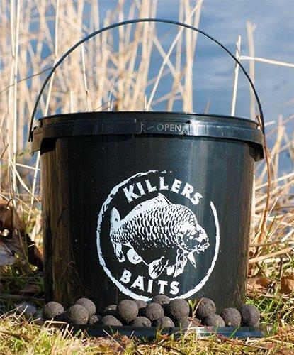 Carp killers boilies black hash 3 5kg eimer karpfenk der for Karpfen steckbrief