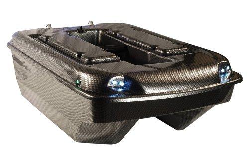 Carp Madness X-Jet Futterboot Bausatz 2,4 Ghz Carbon Baitboat mit Echolot RF15e -