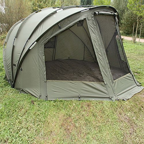 fox royale xxl bivvy karpfenzelt 2 mann zelt angelrollen. Black Bedroom Furniture Sets. Home Design Ideas