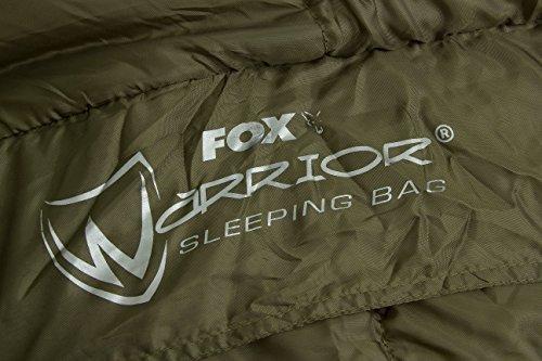 fox warrior sleeping bag schlafsack f r angler zum karpfenangeln nachtangeln angelschlafsack. Black Bedroom Furniture Sets. Home Design Ideas