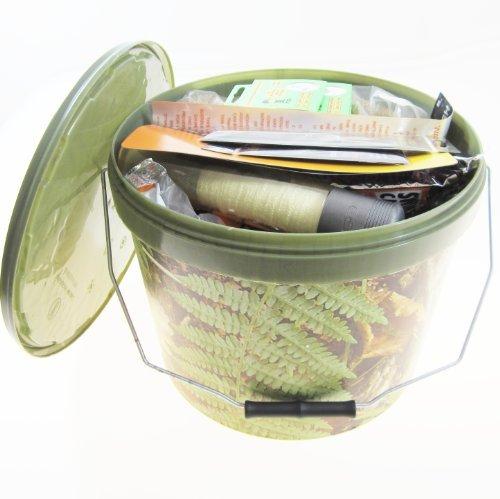 Ftd k dereimer 10 liter mit verschiedenen k dern for Karpfen steckbrief
