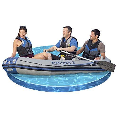 Intex 68373NP Mariner 3 Schlauchboot Set (für 3 Personen / bis 300kg, 2 Paddel) -