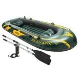 Intex Boot Seahawk 4 Set, grün, 351 x 145 x 48 cm/4-teilig -