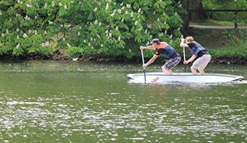 Kanu mit 15 Jahren GARANTIE - Banana®-Nu - Faltkanu - Typ 352 weiß / grün, Faltboot als Kanu für den einfachen Transport - 100 % Made in Germany -