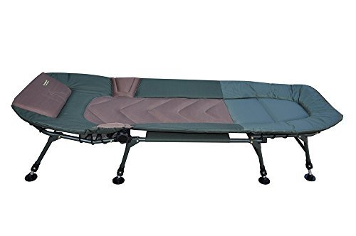 mk angelsport 5 seasons 8 bein liege bedchair karpfenliege gartenliege angelrollen tests. Black Bedroom Furniture Sets. Home Design Ideas