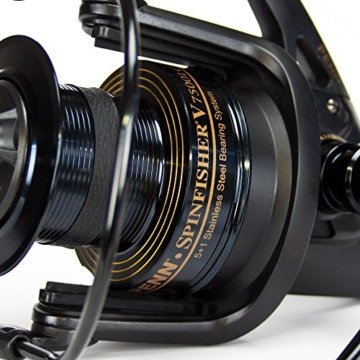 Penn Spinfisher V SSV 7500 LC LTD Limited Black Edition -