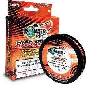 Power Pro Bite Motion 150m 0,19mm geflochtene Schnur -
