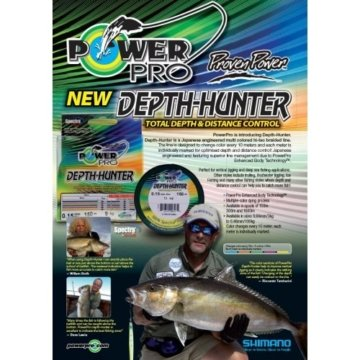 Power Pro Depth-Hunter Multi Colour 300m 0,15mm 9kg -