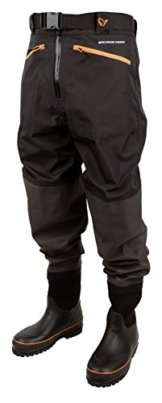 Savage Gear Breathable Waist Wader Boot Foot Cleated 46/47 - 11/12 Wathose -