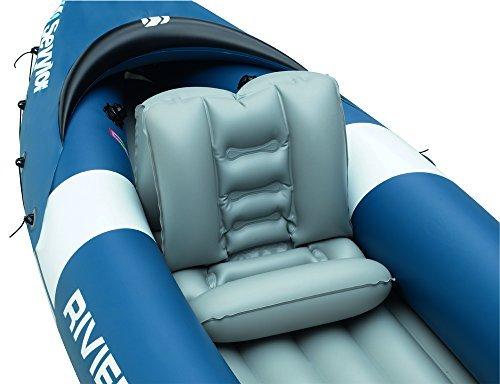 Sevylor Schlauchboot Kajak Riviera, blau/grau (61 x 40,6 x 21,6 cm) -