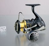 Shimano Stella 5000 SW-B HG Heavy Duty Salzwasser Rolle -