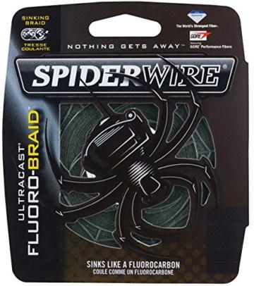 Spiderwire Angelschnur, geflochten, grün fluoreszierend, aus Gusseisen, 30 kg -