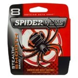 Spiderwire Angelschnur Unisex glatt 8braid-10.7kg, 0,12mm, Code Red, 150m -