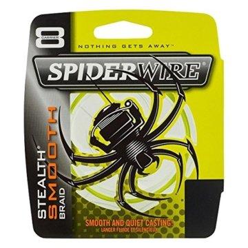 Spiderwire-Stealth Glatte 8-Gelb-150m, gelb, 0.12mm = 10.7kg -