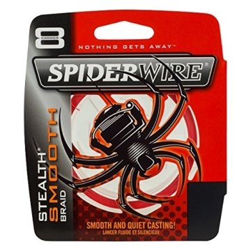 SpiderWire - Stealth Smooth 8 - Red - 0,20mm - 20,0kg - 300m -