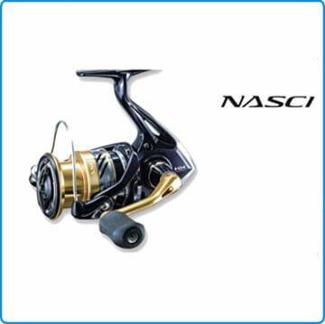 Shimano Nasci C3000 HG FB, Spinning Angelrolle mit Frontbremse, NASC3000HGFB - 4